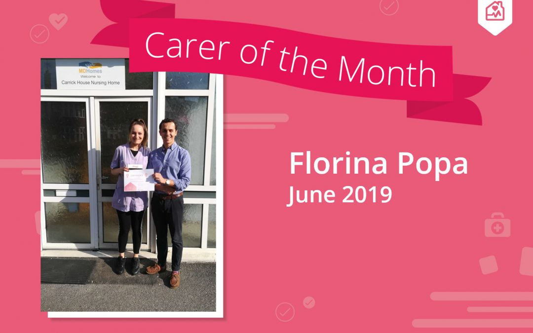 Carer of the month – June 2019