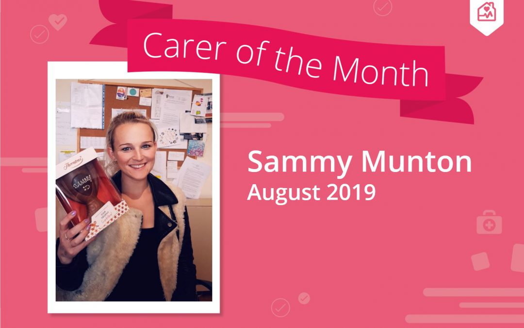 Carer of the month – August 2019