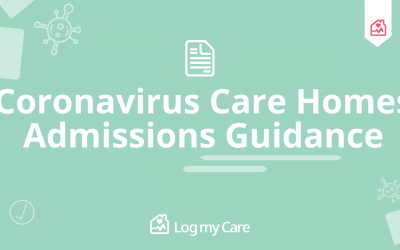 Coronavirus Care Homes Admissions Guidance