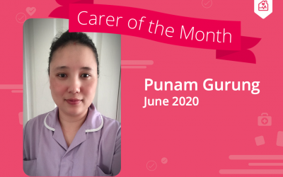 Carer of the Month – June 2020