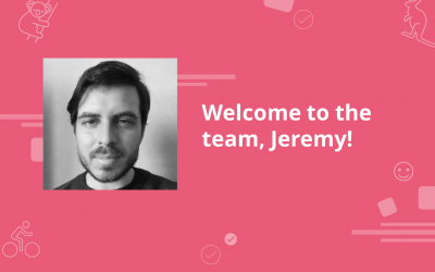 Meet our newest team member: Jeremy 😊