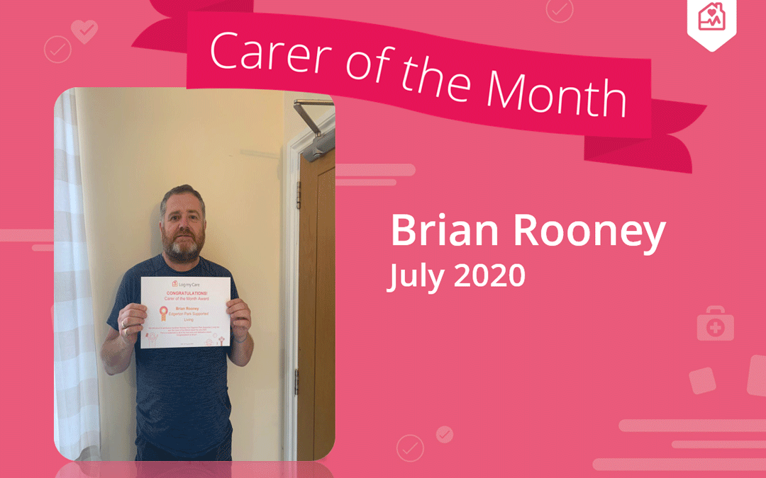 Carer of the Month – July 2020