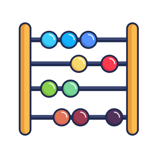 abacus counter icon