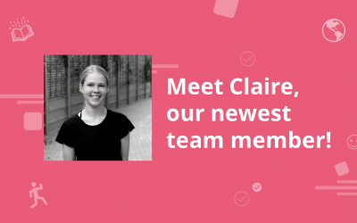 Meet Claire, the latest addition to our growing team!