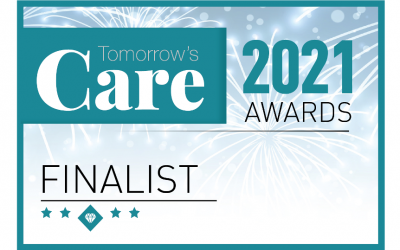 Finalist in Tomorrow's Care Awards 2021