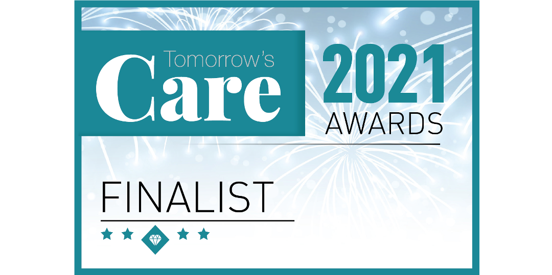 Log my Care is a finalist in the 2021 Tomorrow's Care Awards