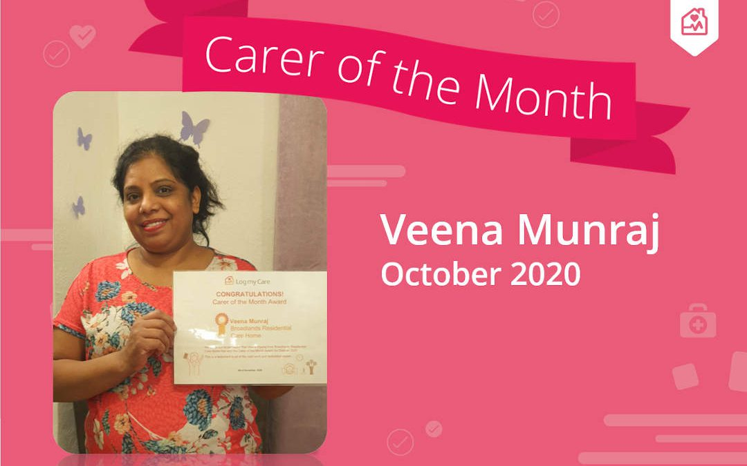 Carer of The Month – October 2020