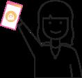 carer holding care platform app