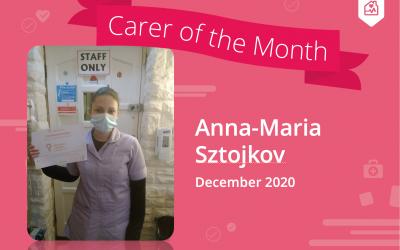 Carer of the Month – December 2020