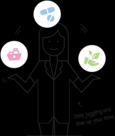 carer juggling live-in care tasks