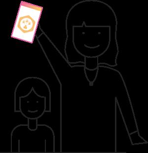 family members using family app