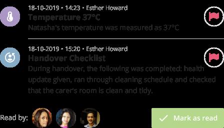 handovers feature